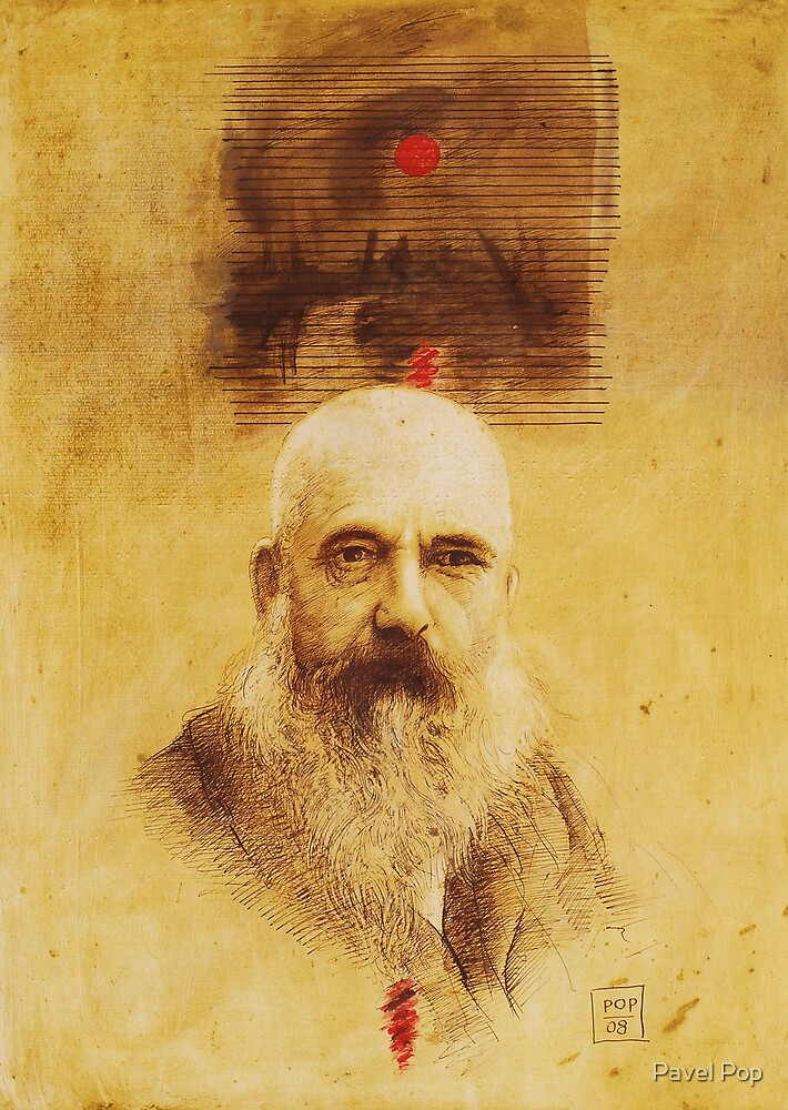 """Claude Monet"" by Pavel Pop"