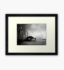 Little Red Riding Hood ~ The Fisrt Touch  Framed Print