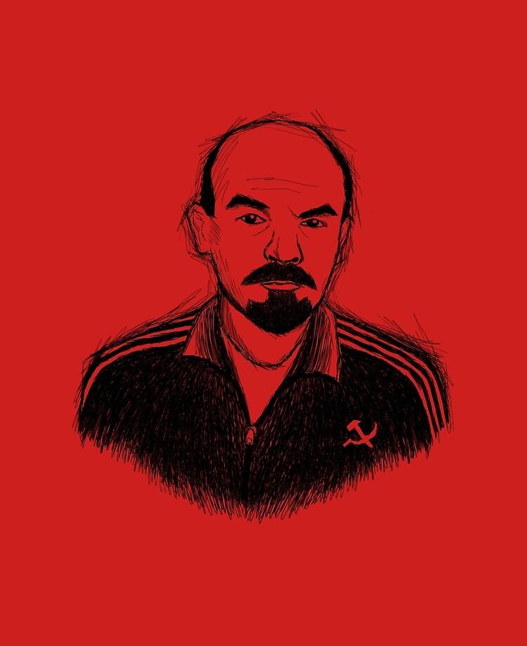 Tracksuit Lenin | iPad Case & Skin