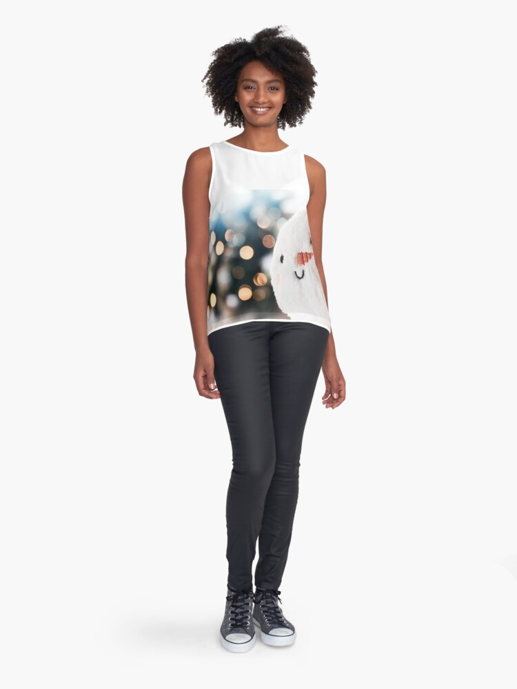 Alternate view of Let it snow Sleeveless Top