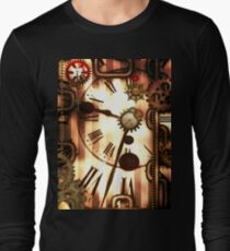Steampunk, clocks and gears, vintage design T-Shirt
