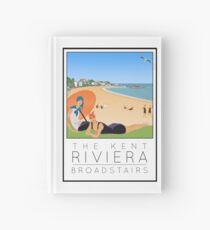 Poster Kent Riviera Broadstairs Hardcover Journal
