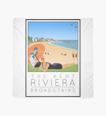 Poster Kent Riviera Broadstairs Scarf