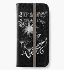 Tokio Hotel - Stop Babe [dark] iPhone Wallet/Case/Skin