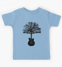 The guitar tree Kids Tee