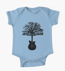 The guitar tree Short Sleeve Baby One-Piece