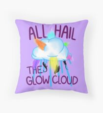 ALL HAIL THE GLOW CLOUD Throw Pillow