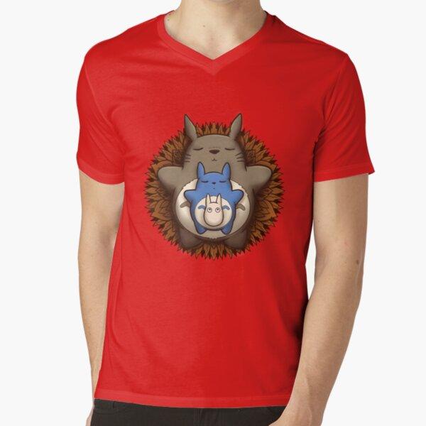 Sleepy Spirits Mandala V-Neck T-Shirt