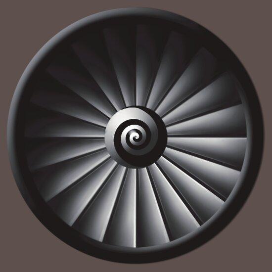 TShirtGifter presents: Jet Engine