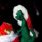 Santa Claws in coming to town. by Sara Sadler