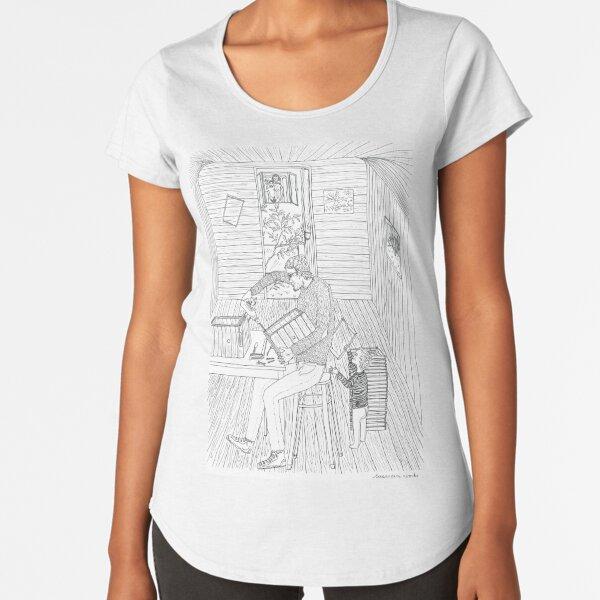 beegarden.works 008 Premium Scoop T-Shirt