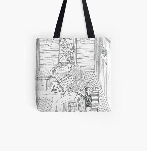 beegarden.works 008 All Over Print Tote Bag