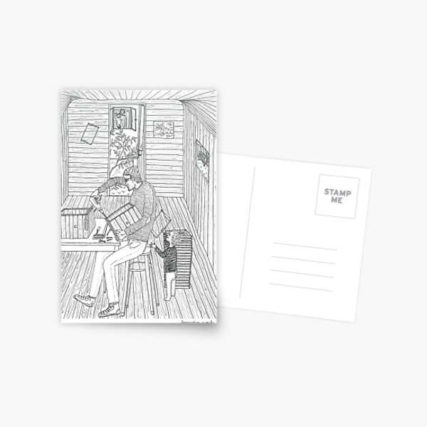 beegarden.works 008 Postcard