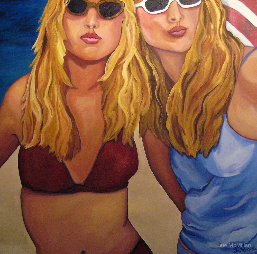 2 non-Blondes by Sue McMillan