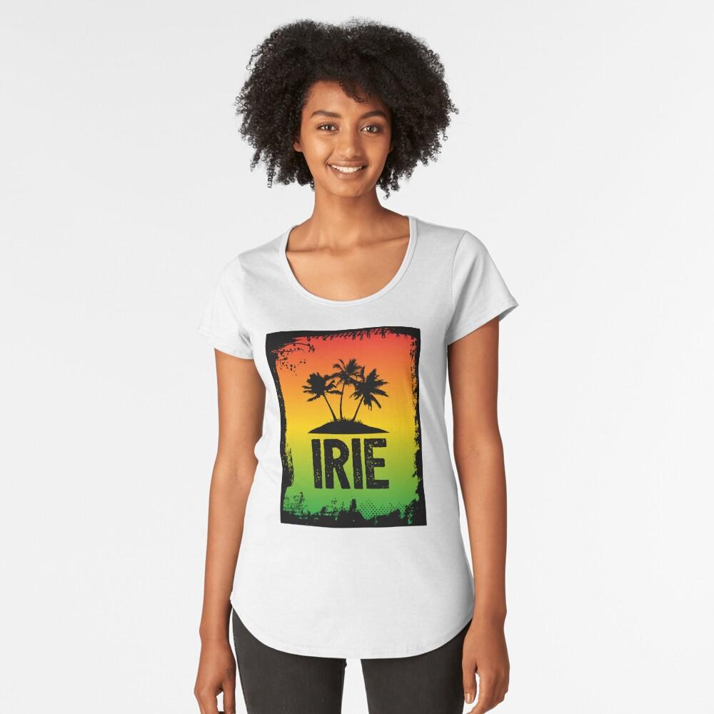 Irie Jamaican Patwa Slang Rasta Friendly Greeting Graphic Print