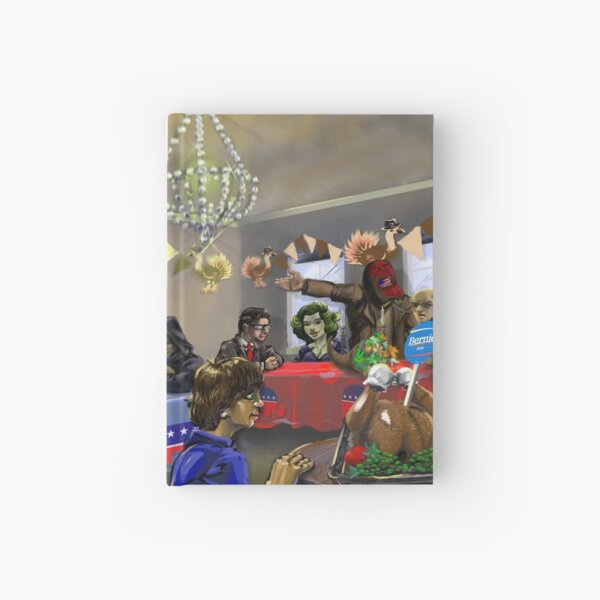 Political Thanksgiving by Wesly Alvarez Hardcover Journal
