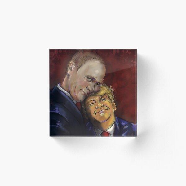 Political Valentines by Wesly Alvarez Acrylic Block