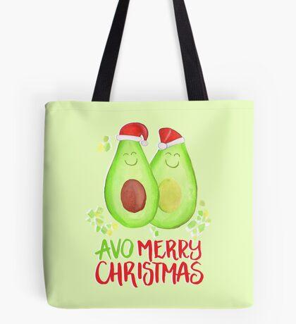 Avocado - Avo Merry Christmas Tote Bag