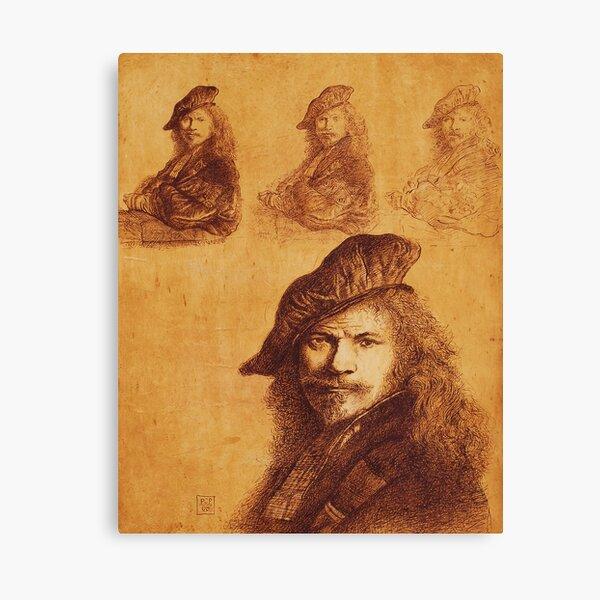"""""""Rembrandt"""" Canvas Print"""