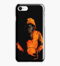 vulpes pilum mutat, non mores (Black Shirt Version) iPhone Case/Skin