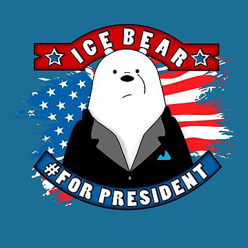 Ice Bear President by Cool-Art