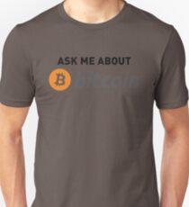 Camiseta unisex BITCOIN