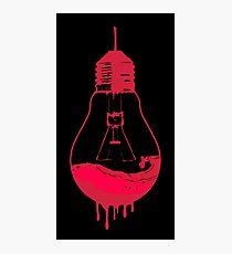 EVIL DEAD - LIGHT BULB Photographic Print