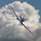 Spitfire in the Clouds by Colin  Williams Photography