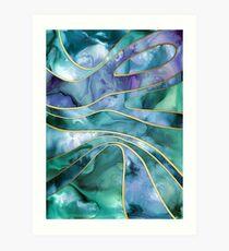 The Magnetic Tide Art Print