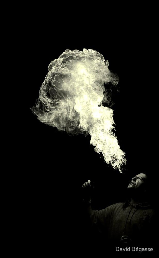 Spitting fire by David Bégasse