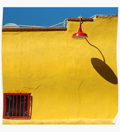 Lamp, Building, Tucson, Arizona Poster