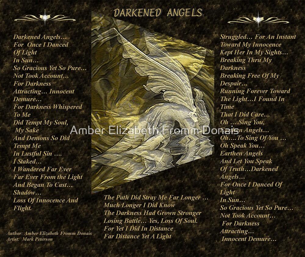 Darkened Angels  by Amber Elizabeth Fromm Donais