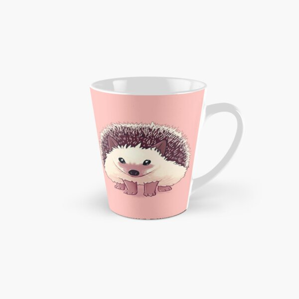 """You Are Capable"" Hedgehog Tall Mug"