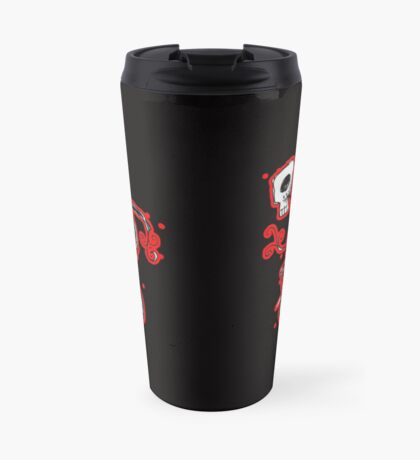 cyclops on a unicycle Travel Mug
