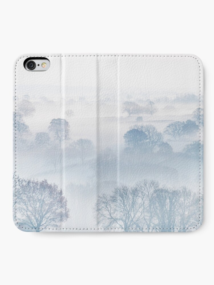 Alternate view of Ethereal Morning Mist iPhone Wallet