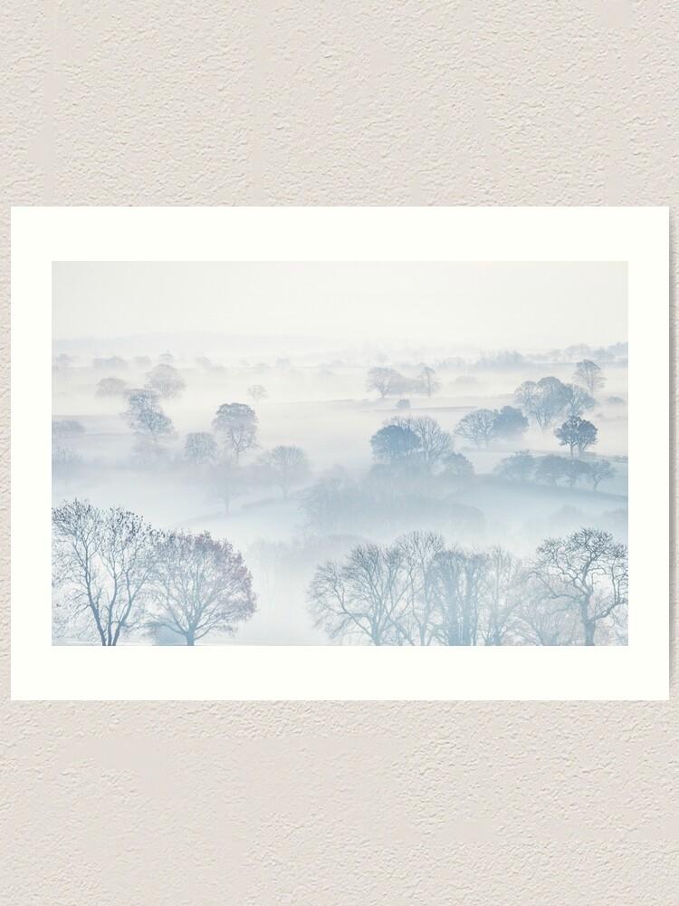 Alternate view of Ethereal Morning Mist Art Print