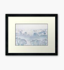 Ethereal Morning Mist Framed Print