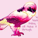 """""""You Will Make It Through"""" Night Sky Owl by thelatestkate"""
