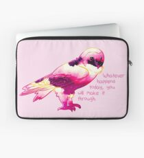 """You Will Make It Through"" Night Sky Owl Laptop Sleeve"