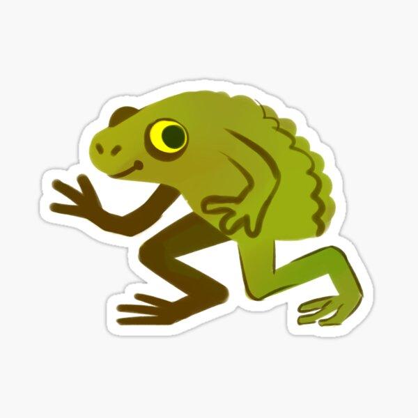 The Loveland Frog Sticker