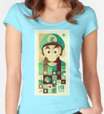 luigi 1985 Women's Fitted Scoop T-Shirt