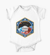 HI-SEAS (Hawaii Space Exploration Analog and Simulation) Mission 3 Logo One Piece - Short Sleeve