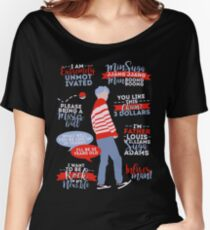 BTS Suga Quotes Women's Relaxed Fit T-Shirt