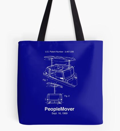 PeopleMover Patent People Mover Tote Bag