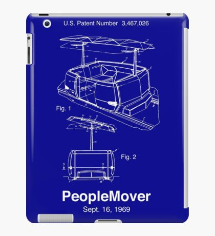 PeopleMover Patent People Mover iPad Case/Skin