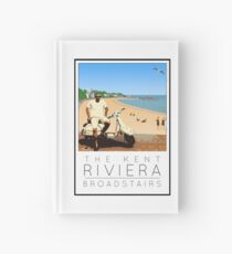 Scooter Poster Broadstairs Hardcover Journal