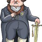 King George IV by MacKaycartoons