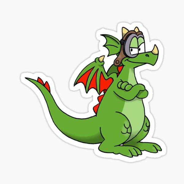 Aero the Dragon Sticker