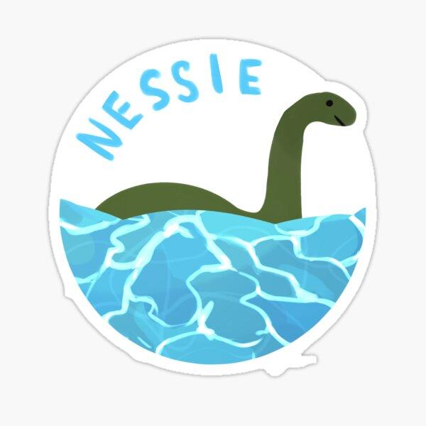 Loch Ness Monster - NESSIE Sticker