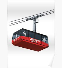 Jackson Hole Cable Car Poster